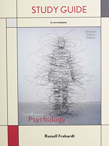 9781429234283: Study Guide for Introducing Psychology