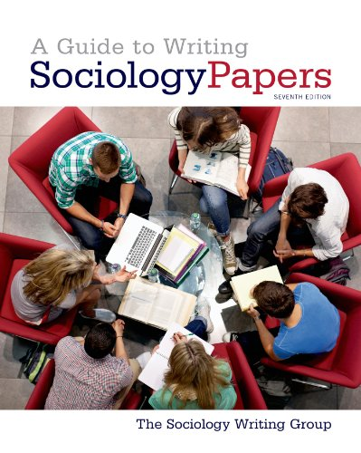 9781429234795: A Guide to Writing Sociology Papers