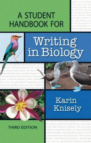 9781429234917: A Student Handbook for Writing in Biology