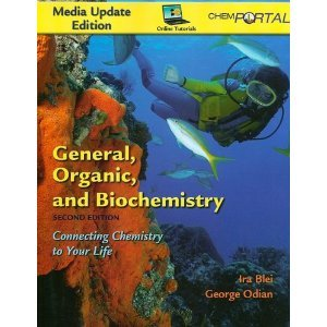 9781429235013: General, Organic, and Biochemistry Media Update Edition & ChemPortal (12 Month)