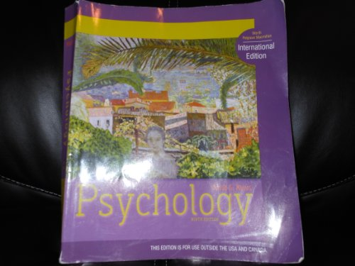 9781429236997: Psychology: International Edition