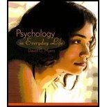 9781429238090: Psychology in Everyday Life (Loose Leaf)