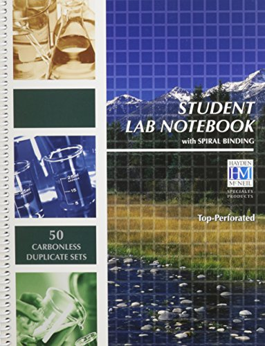 9781429238625: Student Lab Notebook with Spiral Binding