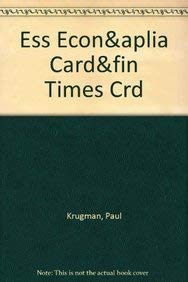 9781429238892: Essentials of Economics, Aplia Activation Card& Financial Times Card