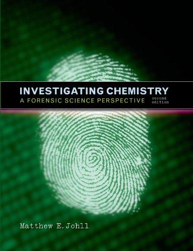INVESTIGATING CHEMISTRY: Matthew E Johll