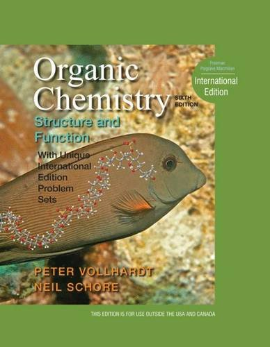9781429239240: Organic Chemistry Structure and Function, International Edition