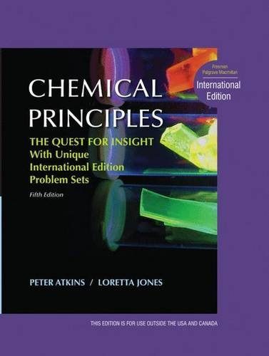 9781429239257: Chemical Principles The Quest for Insight, International Edition