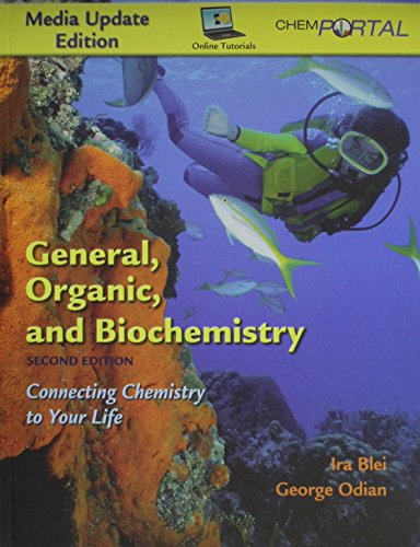 9781429239295: General, Organic, and Biochemistry Media Update Edition & ChemPortal (6-month)