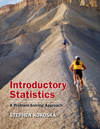 9781429239769: Introductory Statistics: A Problem-Solving Approach: w/Student CD