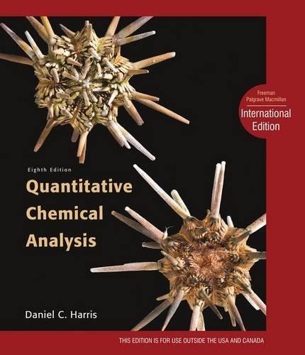 9781429239899: Quantitative Chemical Analysis: International Edition