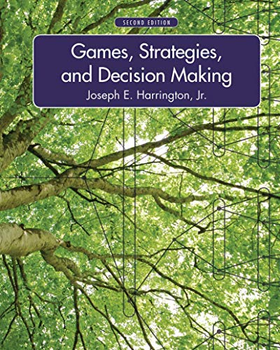 9781429239967: Games, Strategies, and Decision Making