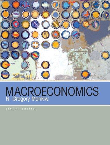 Macroeconomics: Mankiw, N. Gregory