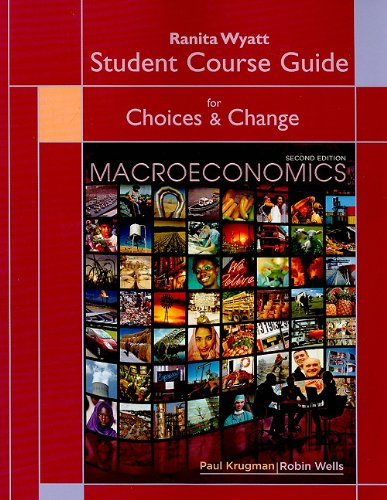 9781429240086: Telecourse Study Guide for Macroeconomics