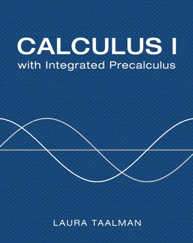 9781429240734: Calculus I with Integrated Precalculus