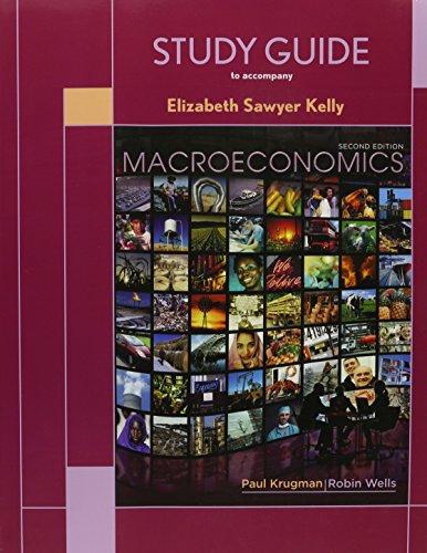 9781429241823: Macroeconomics and Study Guide