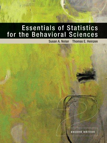 9781429242271: Essentials of Statistics for the Behavioral Sciences