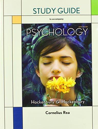9781429243698: Study Guide to Accompany Psychology