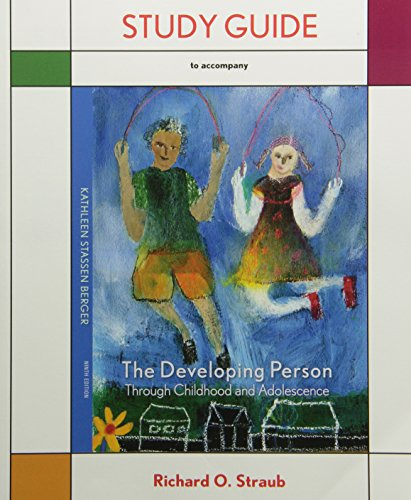 9781429243759: Developing Person Through Childhood and Adolescence Studyguide