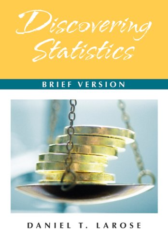 Discovering Statistics: Brief Version: w/Student CD & Tables and Formula Card