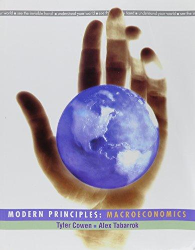 9781429254144: Modern Principles of Macroeconomics & Aplia 1 semester access Card