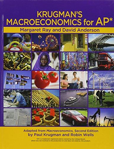 Krugman's Macroeconomics for AP*: Ray, Margaret; Anderson,