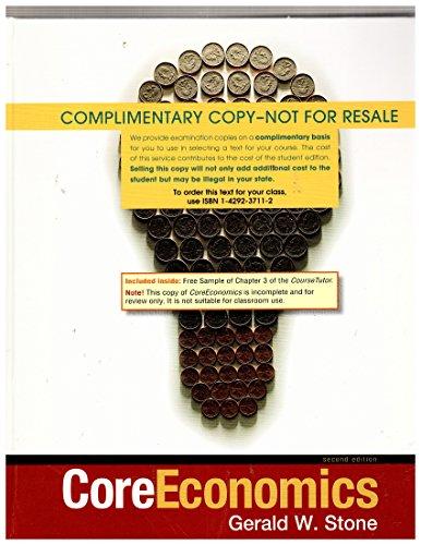 Core Economics: Stone, Gerald W
