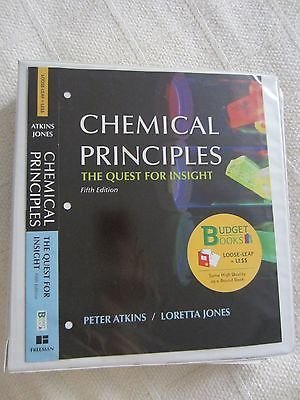 9781429266116: Chemical Principles: The Quest for Insight