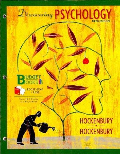 9781429269278: Discovering Psychology (Loose Leaf) & Study Guide