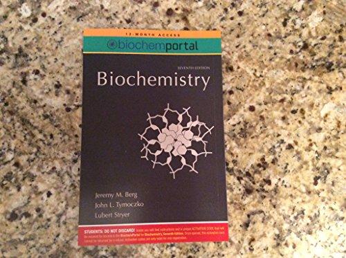 9781429270878: biochem portal access for biochemistry 7th ed.