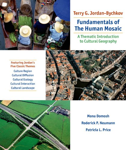 9781429272001: Fundamentals of the Human Mosaic: A Thematic Approach to Cultural Geography