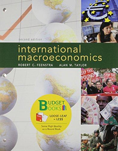 9781429273077: International Macroeconomics (Loose Leaf)