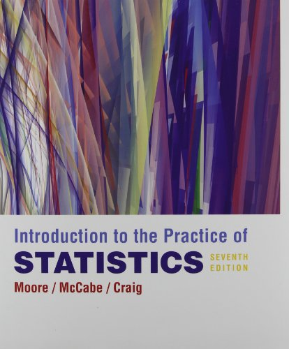 Introduction to the Practice of Statistics: David S. Moore,