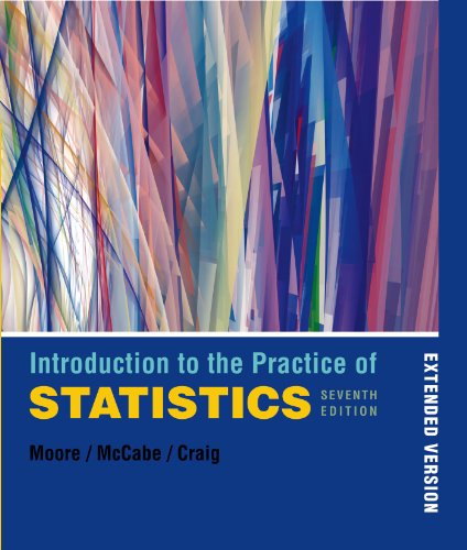 9781429274340: Introduction to the Practice of Statistics Extended Version & CDROM