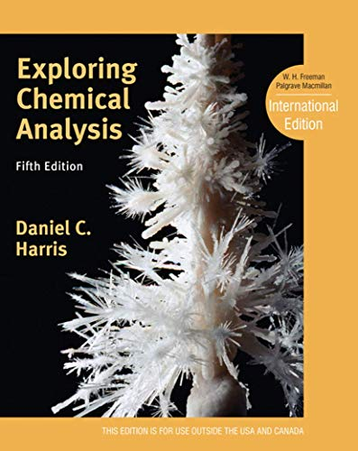 Exploring Chemical Analysis: Harris, Daniel C.