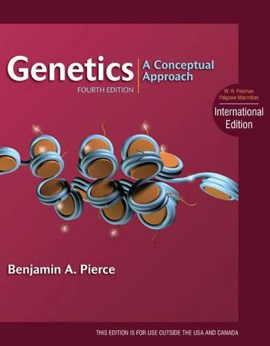 9781429276061: Genetics: A Conceptual Approach. Benjamin A. Pierce