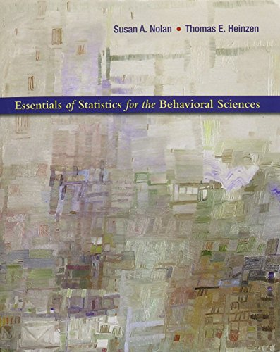 9781429276283: Essentials of Statistics for the Behavioral Sciences & CD-Rom for SPSS V. 18