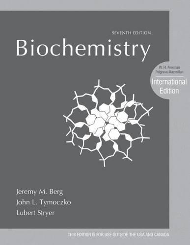 Biochemistry. Jeremy M. Berg, John L. Tymoczko,: Berg, Jeremy Mark