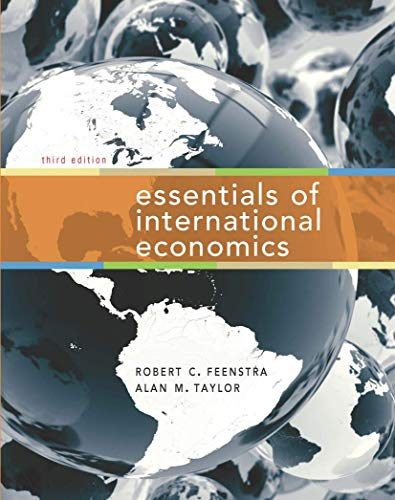 Essentials of International Economics: Taylor, Alan M.,