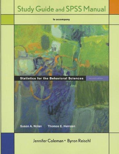 9781429280297: Statistics for the Behavioral Sciences