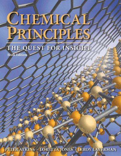 9781429288972: Chemical Principles: The Quest for Insight