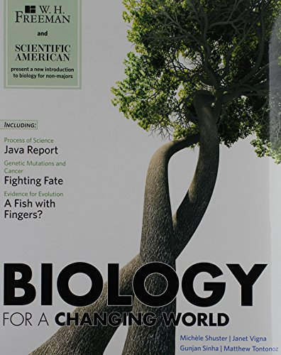 9781429294331: Biology for a Changing World [With Study Guide]