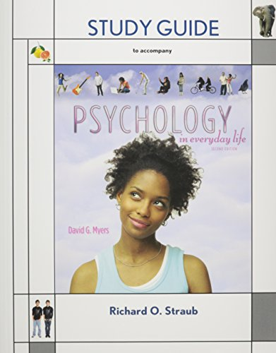 9781429294874: Psychology in Everyday Life & Study Guide