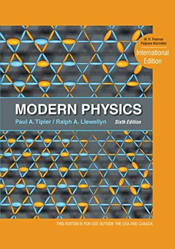 9781429295901: Modern Physics. Paul A. Tipler and Ralph Llewellyn