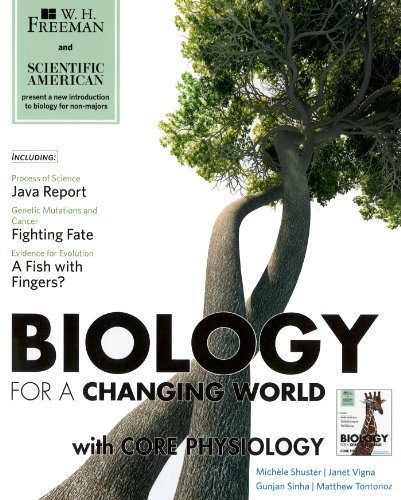 9781429297028: Scientific American Biology for a Changing World with Core Physiology