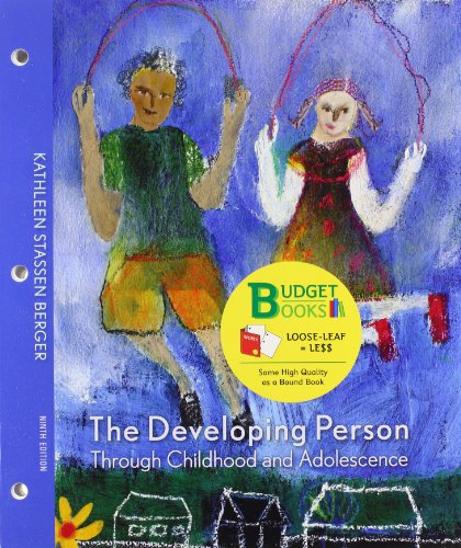 9781429297509: Developing Person through Childhood and Adolescence (Loose Leaf)