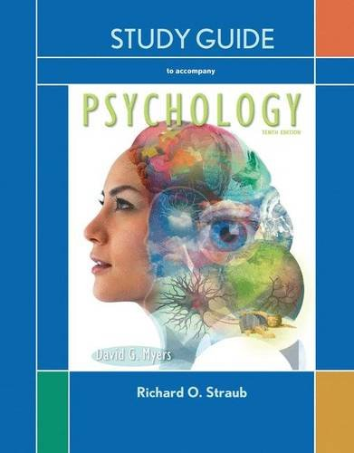 9781429299640: Study Guide for Myers Psychology