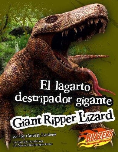 El lagarto destripador gigante/Giant Ripper Lizard (Monstruos extintos / Extinct Monsters...