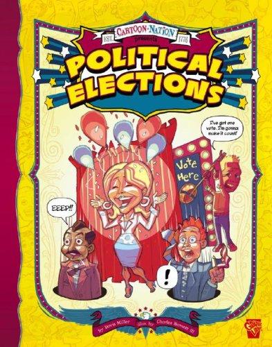 9781429613330: Political Elections (Cartoon Nation)