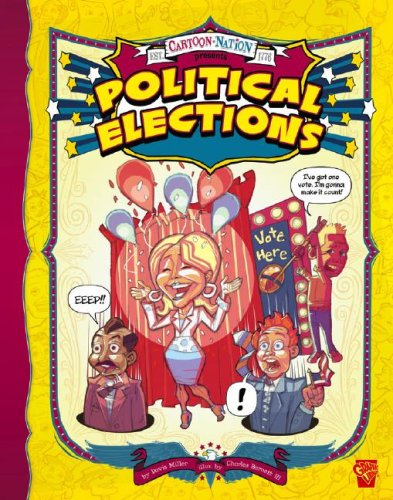 9781429617802: Political Elections (Cartoon Nation series)