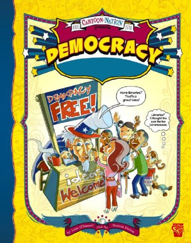 9781429617819: Democracy (Graphic Library: Cartoon Nation series)